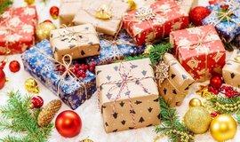 Vánoční dárky, ilustrační foto