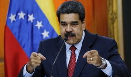 Venezuelský autoritářský prezident Nicolás Maduro