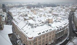 Praha v zimě