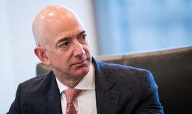 Zakladatel Amazonu a vesmírného projektu Blue Origin Jeff Bezos