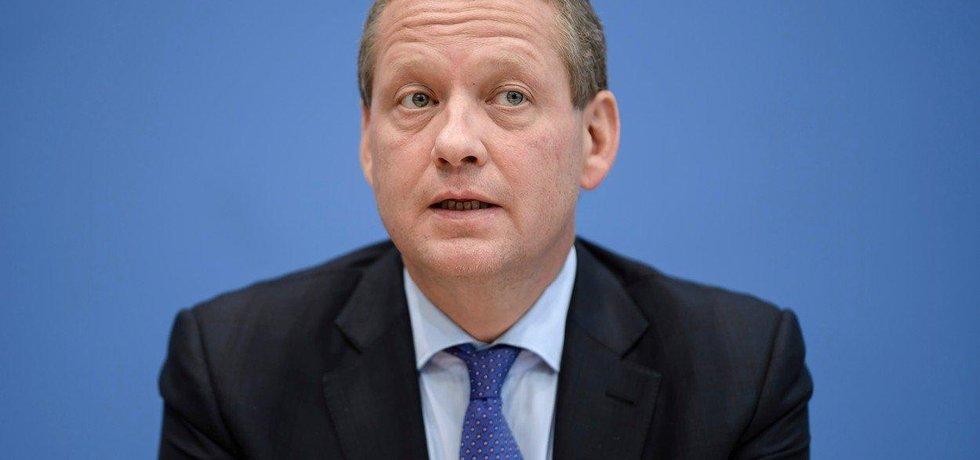 Šéf německé obchodní komory Eric Schweitzer