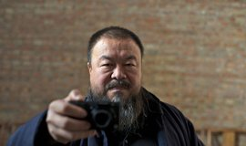 Čínský umělec Aj Wej-wej na snímku z roku 2012.