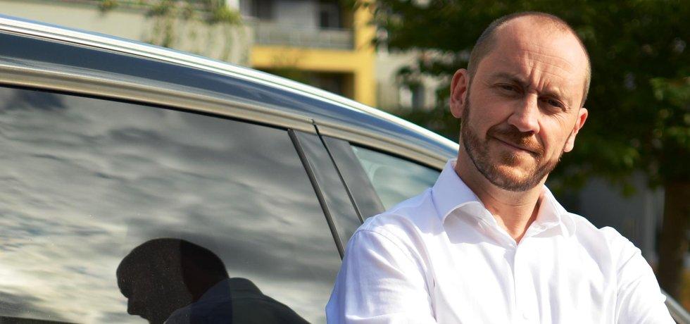 Zakladatel a jednatel startupu Caara.cz Jan Veselý