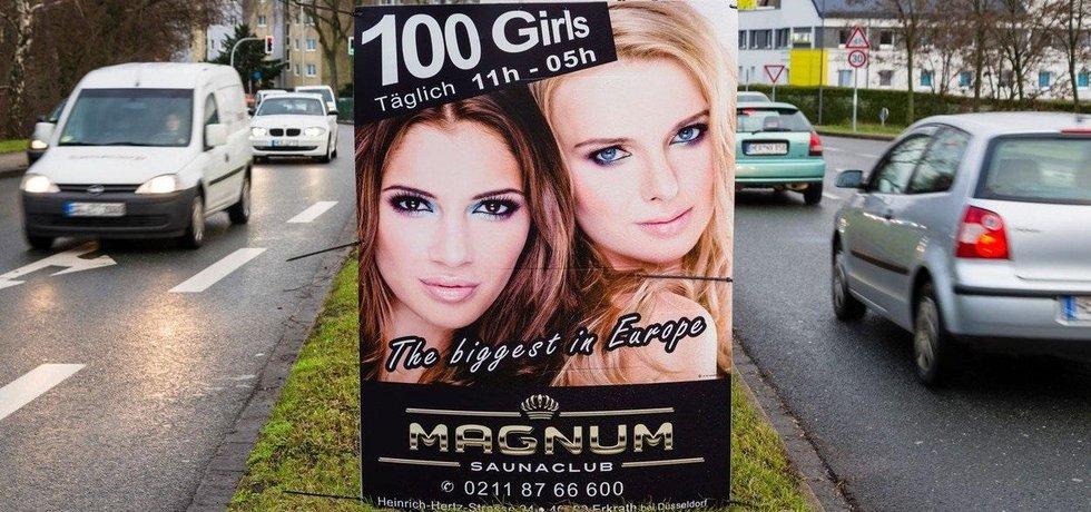 Prostituce v Německu kvete, ilustrační foto