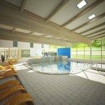 V hale mají být kromě pětadvacetimetrového bazénu, sauny a brouzdaliště