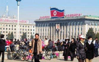 Hlavní město KLDR Pchjong-jang