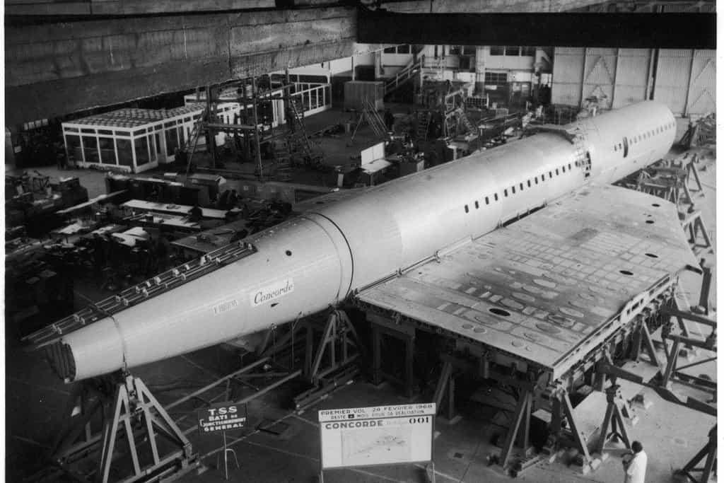 Prvním prototyp v továrně v Toulouse