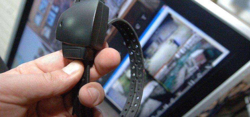 Elektronický bezpečnostní náramek - ilustrační foto