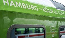 Flixtrain, spoj Hamburg-Kolín n. Rýnem