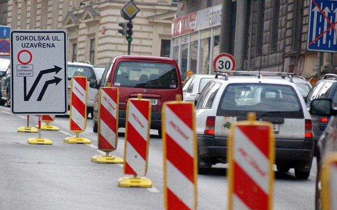 Sokolská ulice, ilustrační foto
