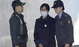Důvěrnice bývalé jihokorejské prezidentky Čche Son-sil přichází k soudu