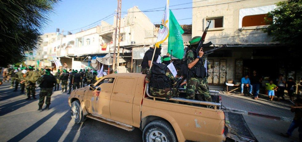 Bojovníci hnutí Hamás