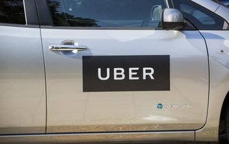 Uber (ilustrační foto)