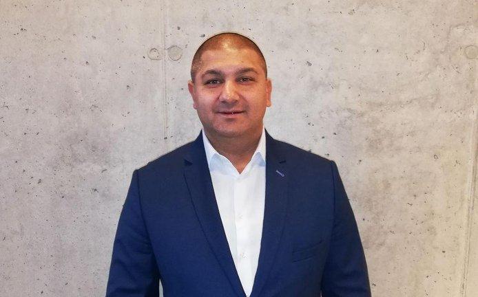 šéf Asociace romských podnikatelů a spolků ČR Vladimír Leško