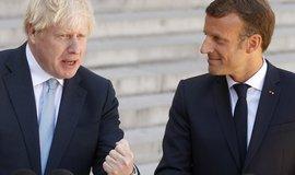 Macron odmítá zrušení irské pojistky. Podle něj chrání jednotný trh EU