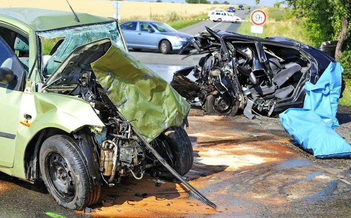 Dopravní nehoda, ilustrační foto