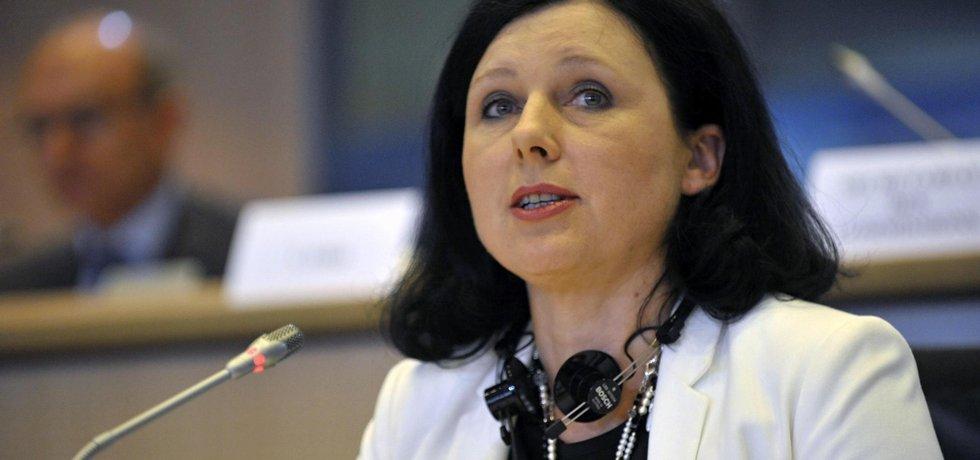 Eurokomisařka Věra Jourová (Zdroj: ČTK)