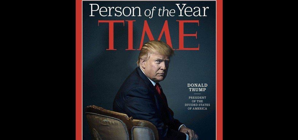 Americký prezident Donald Trump jako osobnost roku 2016 podle časopisu Time