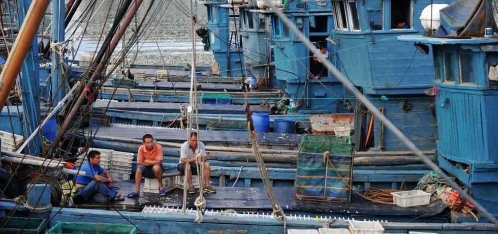 Čínští rybáři, ilustrační foto