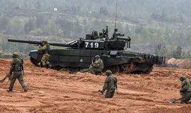 Ruské vojenské cvičení, ilustrační foto