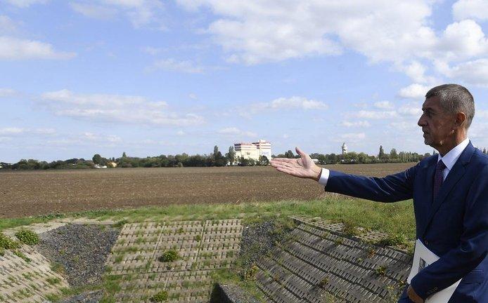 Premiér Andrej Babiš si prohlédl lokalitu v pražských Letňanech, kde by mohla v budoucnu vzniknout takzvaná vládní čtvrť