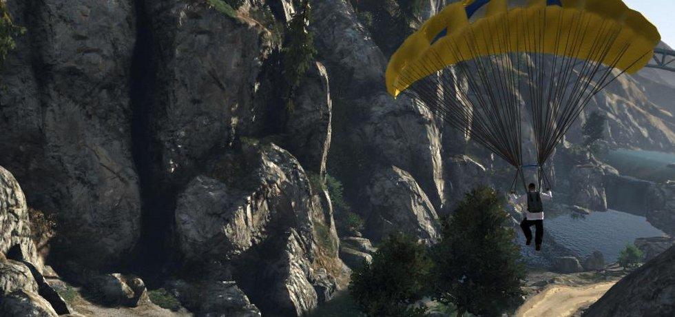 Ukázka ze hry Grand Theft Auto V