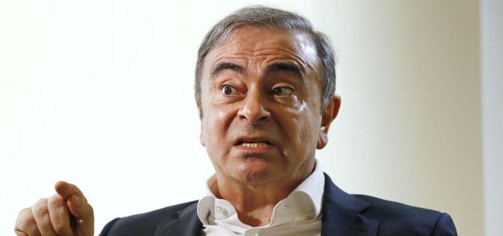 Bývalý šéf automobilky Nissan Carlos Ghosn