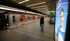 Reklamní nosič v pražském metru