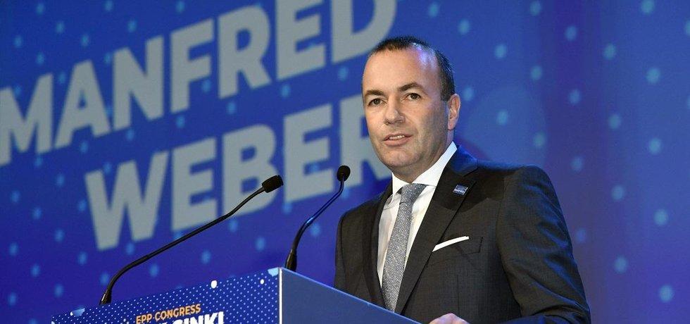 Evropskou lidovou stranu povede do europarlamentních voleb Manfred Weber