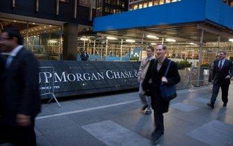 Sídlo banky JPMorgan v New Yorku