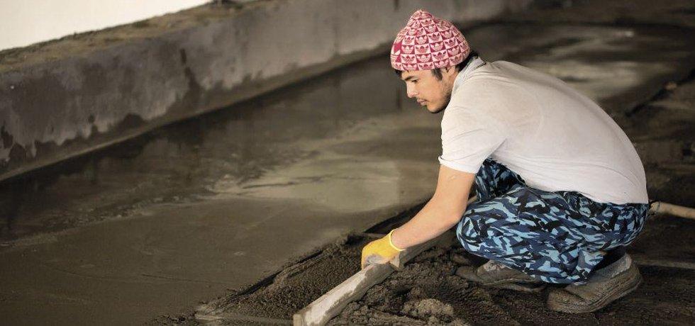 Nejvíc práce pro imigranty je na stavbách a v těžebním průmyslu