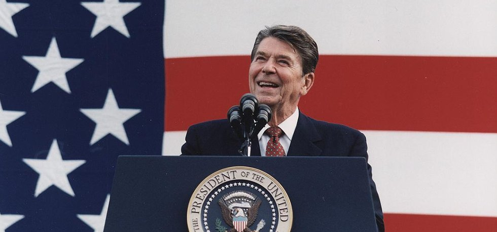 Bývalý prezident USA Ronald Reagan