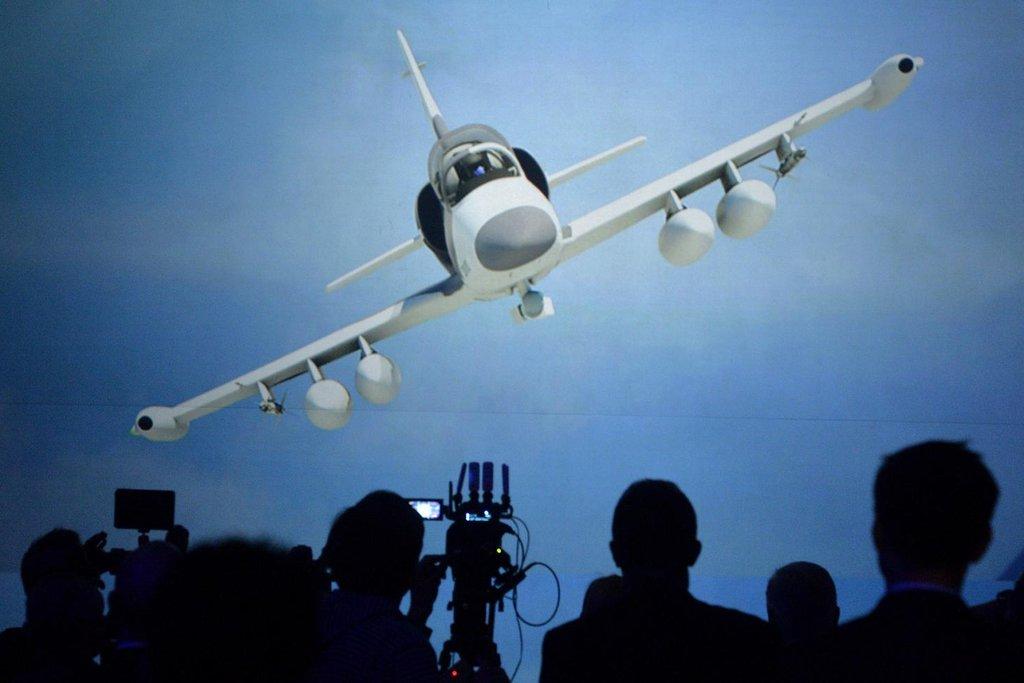 Prezentace nového letounu L-159 od společnosti Aero Vodochody