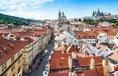 Výhled na centrum Prahy