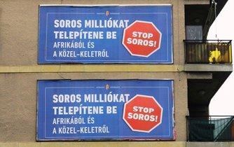 Stop Soros, ilustrační foto
