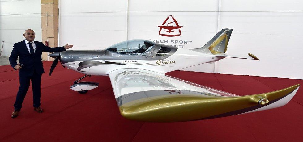Generální ředitel společnosti Czech Sport Aircraft Martin Jurík