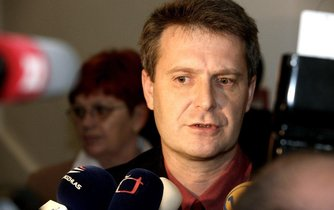 Poslanec za KSČM Stanislav Grospič (snímek z roku 2008)