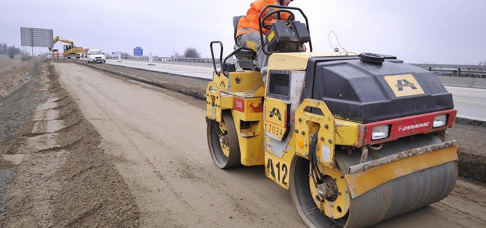 Oprava dálnice D1 (Zdroj: čtk)