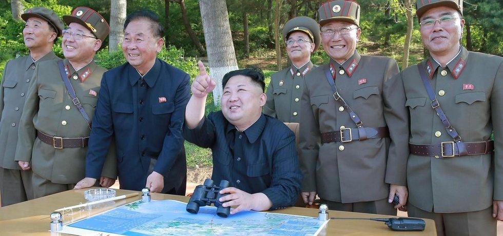 Na zkoušku dohlížel osobně vůdce KLDR Kim Čong-un