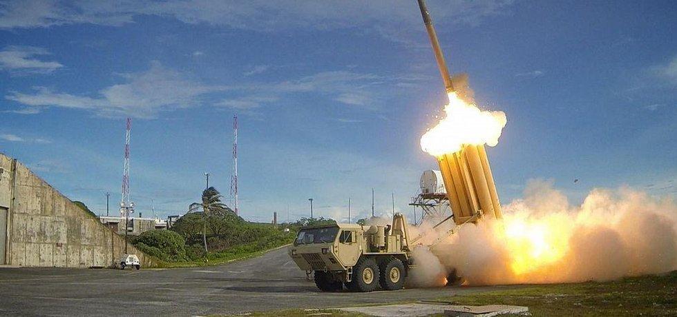 Ilustrační foto. Moderní obranný systém THAAD (Terminal High Altitude Area Defence)