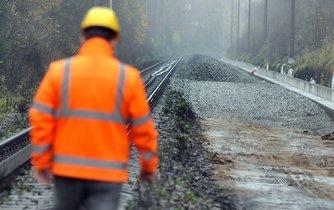 rekonstrukce kolejí, ilustrační foto