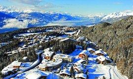 Zimní středisko Crans-Montana