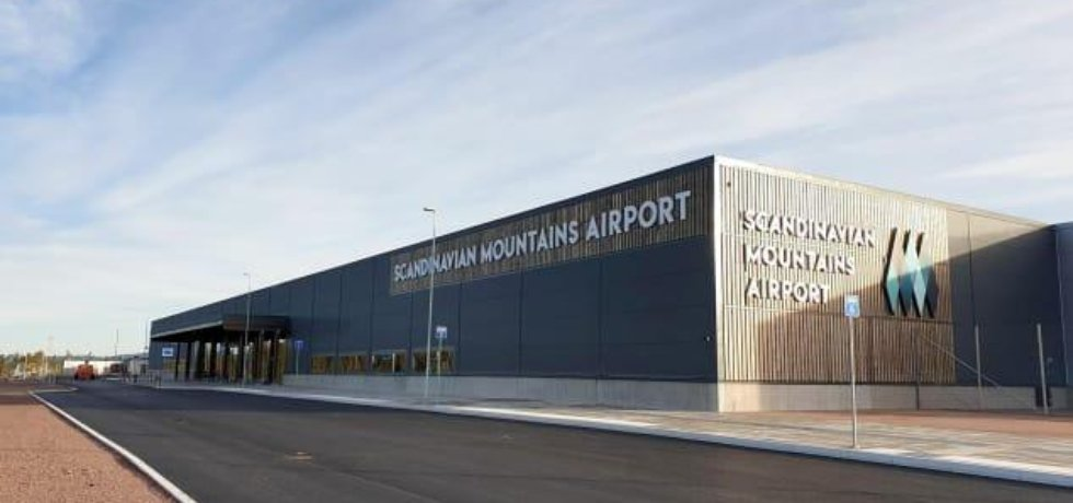Stavba švédského letiště, které nebude mít vlastní řídící věž