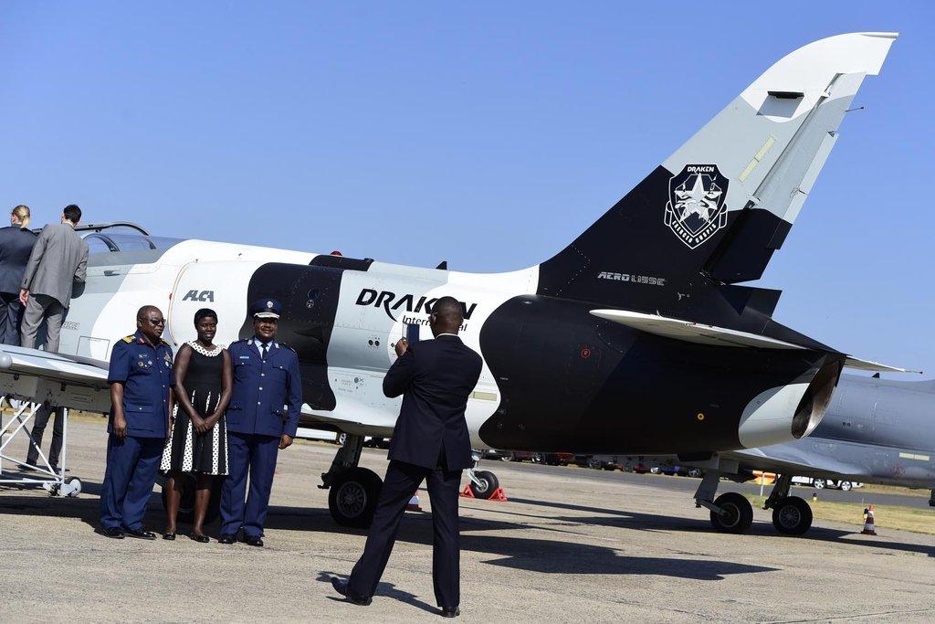 Představení ukázkového letounu L-39CW v Aeru Vodochody