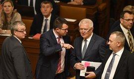 O obsazení komisí budou strany znovu jednat příští týden ve středu