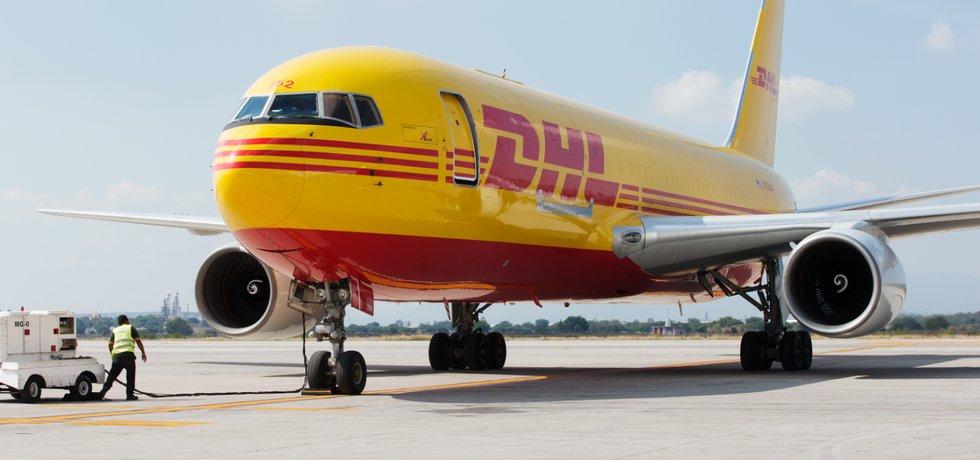 Letadlo společnosti DHL, ilustrační foto