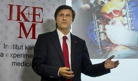 Odcházející ředitel pražského Institutu klinické a experimentální medicíny Aleš Herman