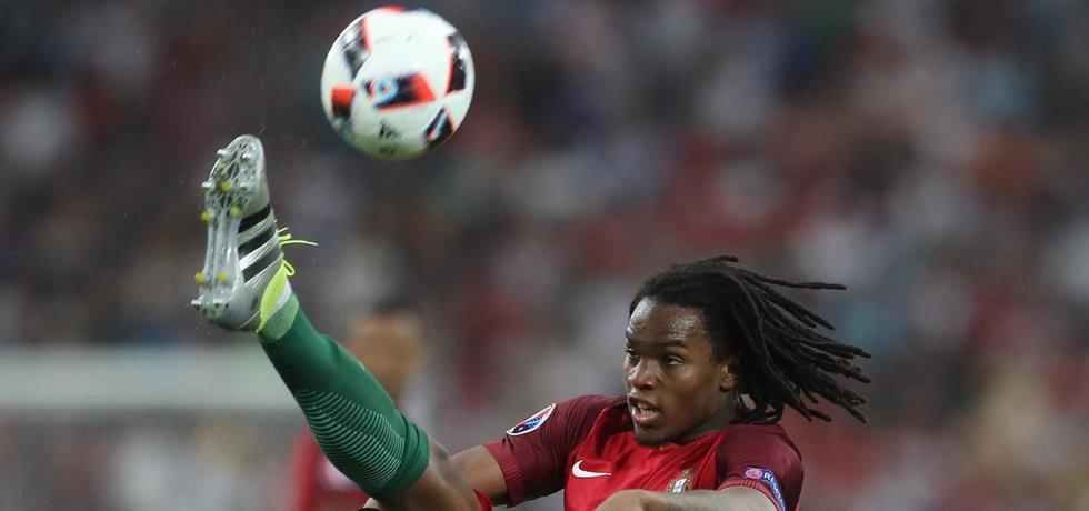 "Portugalci se stali ""hrobaři"" sázkařů. Portugalský fotbalista Renato Sanches. (Zdroj: čtk)"