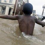 Živel zaplavil ulice i domy