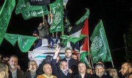 Představitelé hnutí Hamás protestují proti rozhodnutí Donalda Trumpa uznat Jeruzalém jako hlavní město Izraele